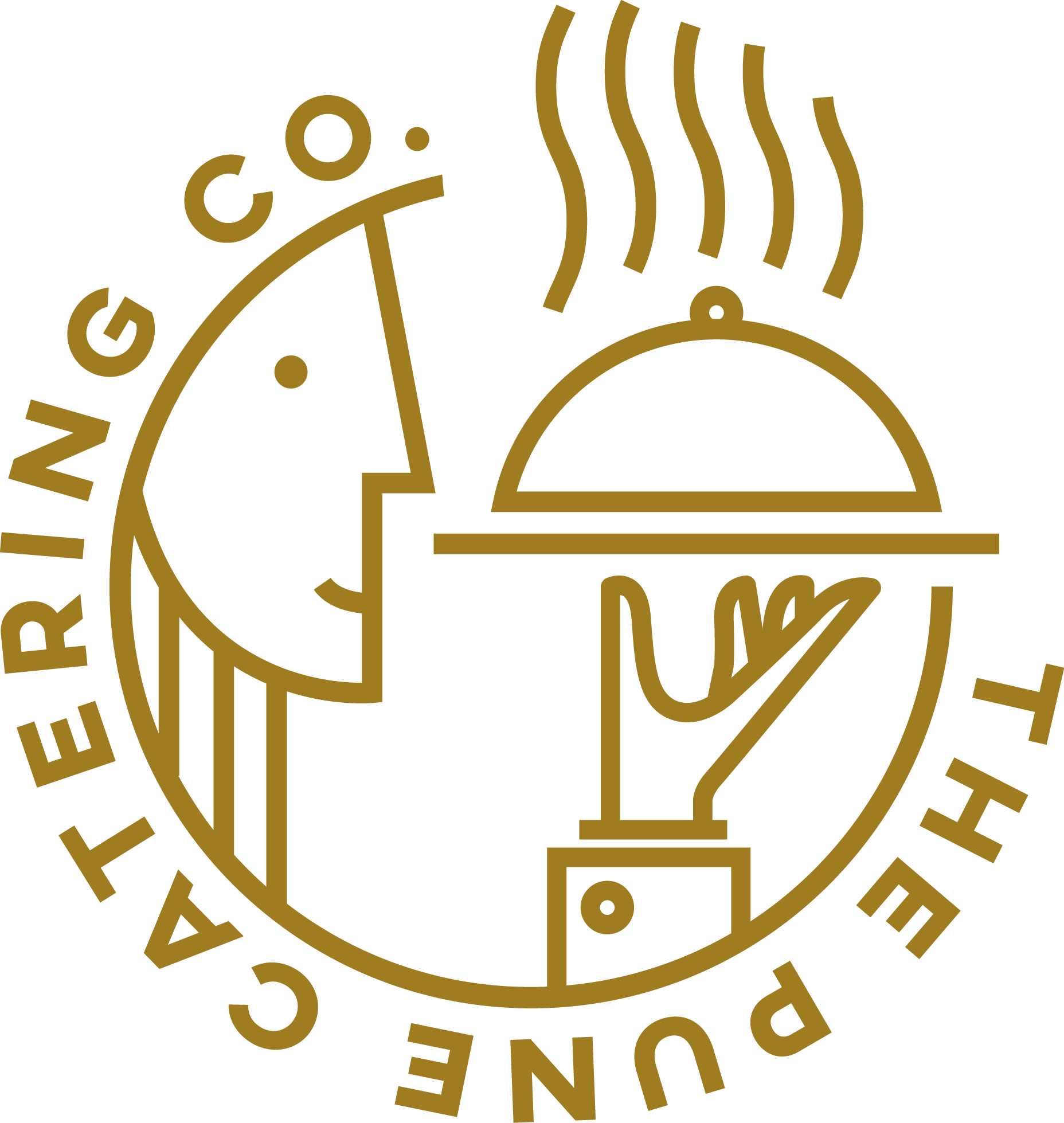 the pune catering co logo